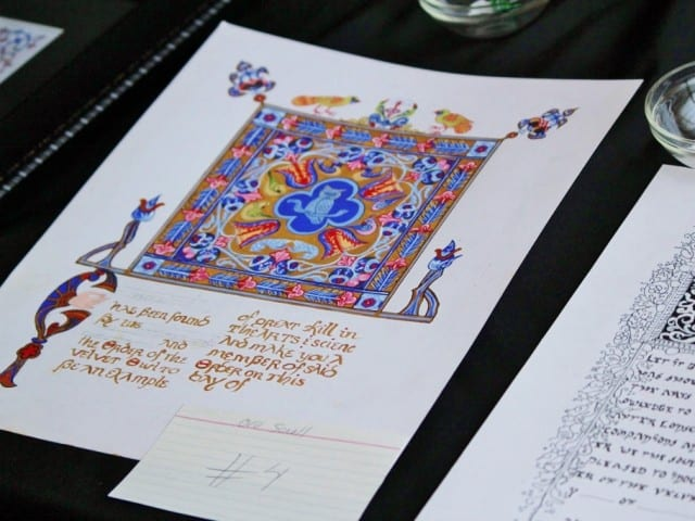 Heraldry and Scribal